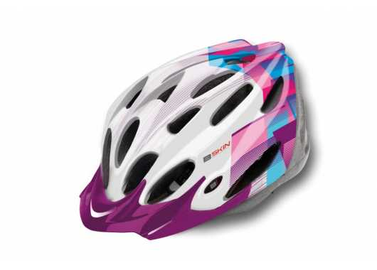 Kask B-Skin Visior Regular white/blue
