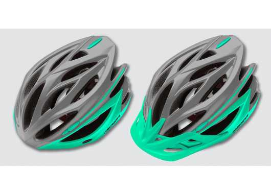 Kask Merida Cosmo Grey-Light-Green L MD146
