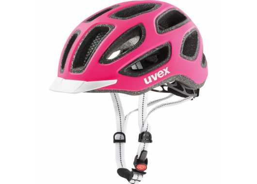 Kask rowerowy Uvex City Pink White